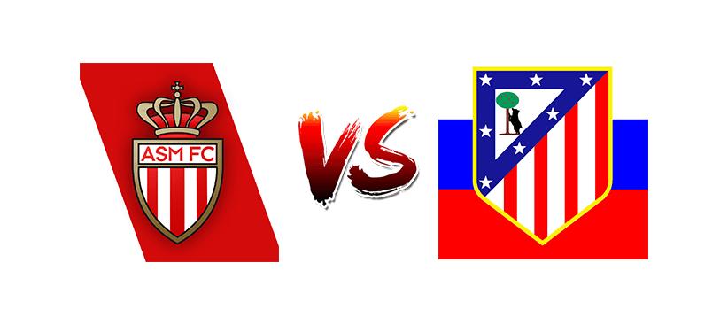 Футбол. Лига чемпионов UEFA. Монако — Атлетико