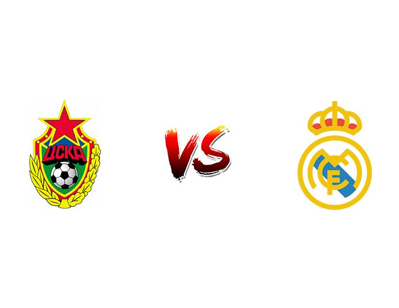 Футбол. Лига Чемпионов UEFA. «ЦСКА»  — «Реал Мадрид»