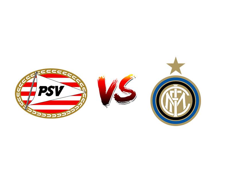 Футбол. Лига Чемпионов UEFA. «ПСВ»  — «Интер»