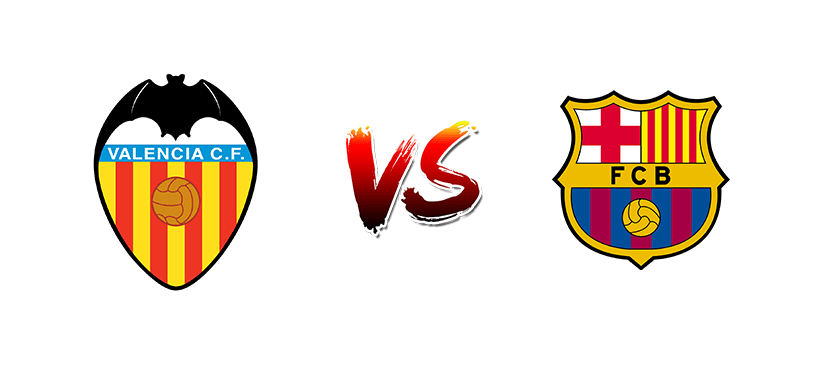 Футбол. Испания. Примера. Валенсия — Барселона