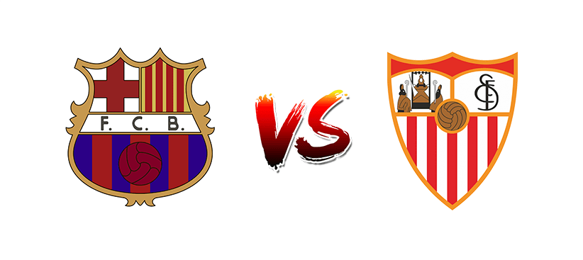 Футбол. Испания. Примера дивизион. Барселона — Севилья