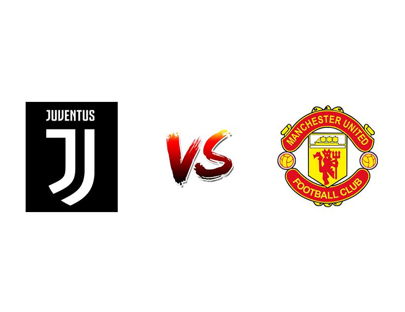 Футбол. Лига чемпионов UEFA. «Ювентус» (Турин) — «Манчестер Юнайтед» (Манчестер)