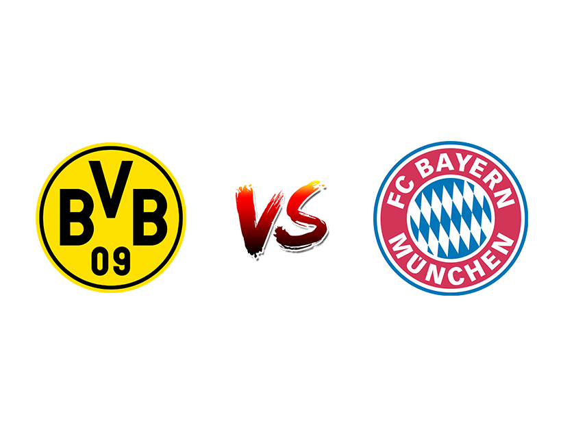 Футбол. Германия. Бундеслига. «Боруссия» (Дортмунд) — «Бавария» (Мюнхен)