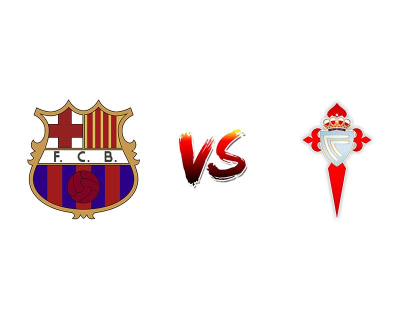 Футбол. Испания. Примера дивизион. Барселона — Сельта