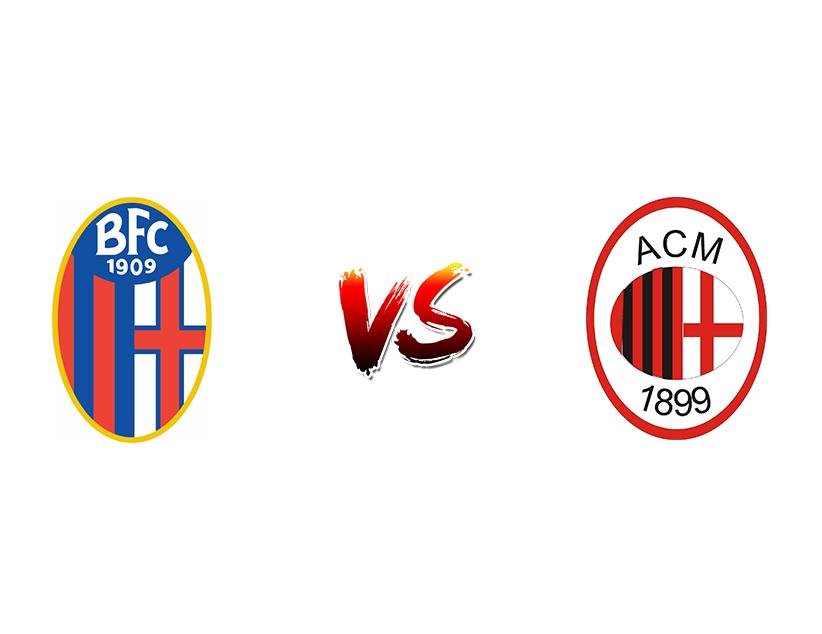 Футбол. Италия. Серия А. «Болонья» (Болонья) — «Милан» (Милан)