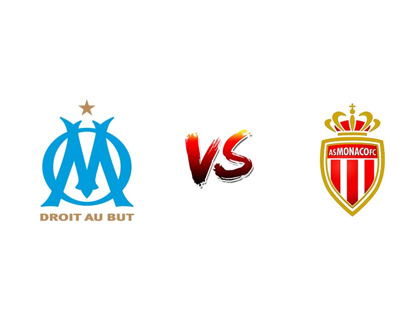 Футбол. Франция. Лига 1. Марсель — Монако