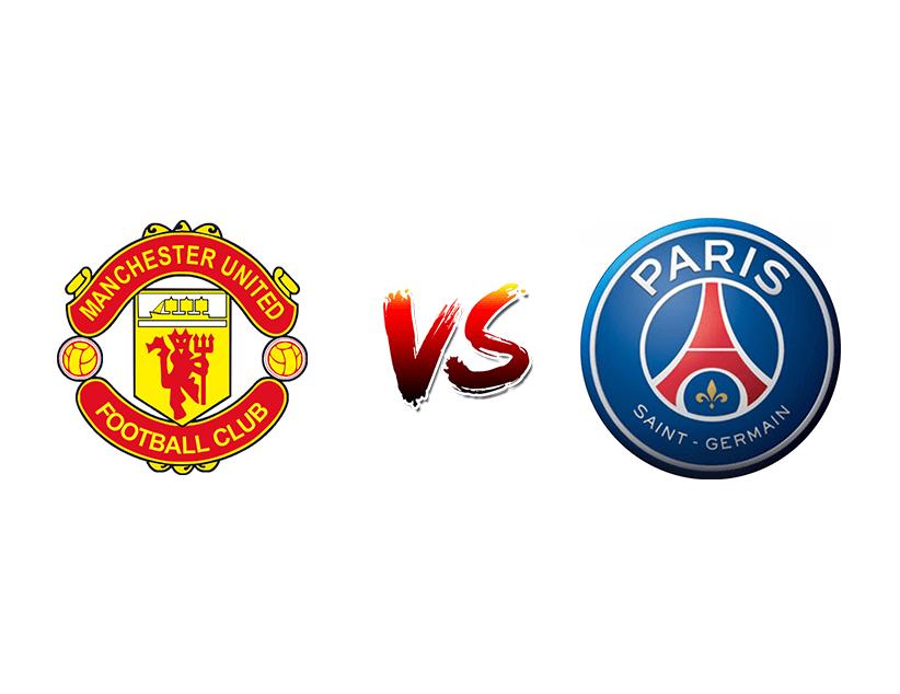 Футбол. Лига чемпионов UEFA. Манчестер Юнайтед — ПСЖ