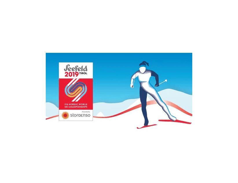 Лыжи. Чемпионат мира. Эстафета