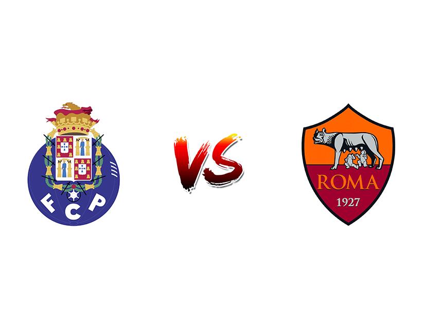Футбол. Лига чемпионов UEFA. «Порту» (Порту) — «Рома» (Рим)
