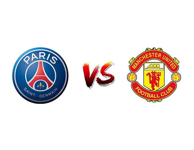 Футбол. Лига чемпионов UEFA. ПСЖ — Манчестер Юнайтед