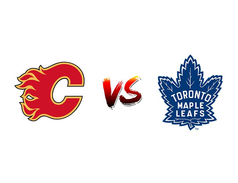 Хоккей. НХЛ. «Калгари Флэймс» (Калгари) – «Торонто Мэйпл Лифс» (Торонто)
