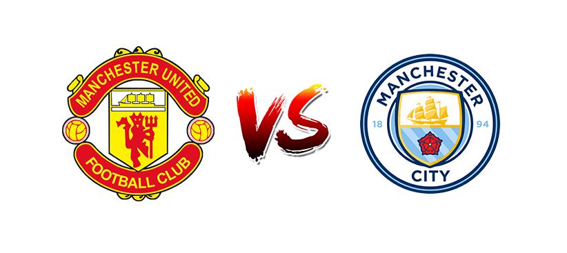 Футбол. Англия. Премьер-лига. Манчестер Юнайтед — Манчестер Сити
