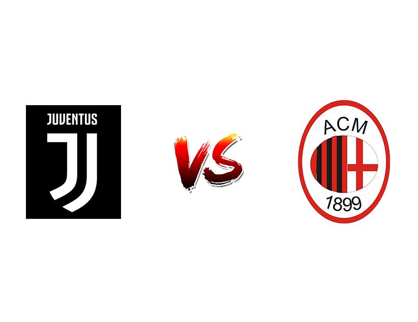 Футбол. Италия Серия А. «Ювентус» (Турин) — «Милан» (Милан)