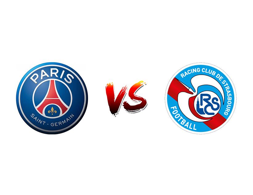 Футбол. Франция. Лига 1. «ПСЖ» (Париж) — «Страсбур» (Страсбур)