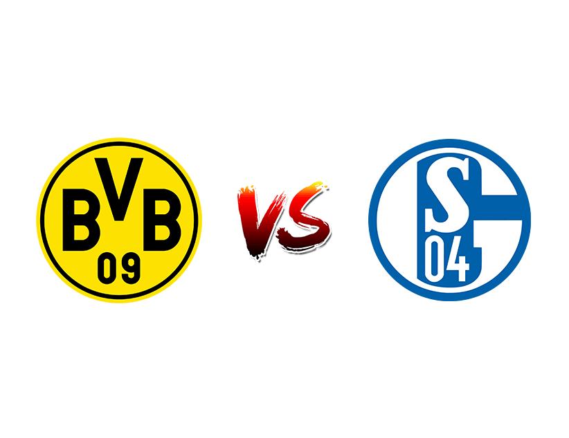 Футбол. Германия. Бундеслига. «Боруссия» (Дортмунд) — «Шальке 04» (Гельзенкирхен)