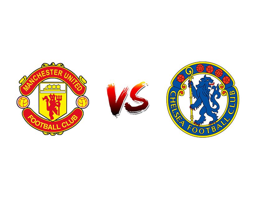 Футбол. Англия. Премьер-лига. «Манчестер Юнайтед» (Манчестер) — «Челси» (Лондон)