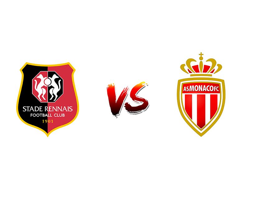 Футбол. Франция. Лига 1. «Ренн» (Ренн) — «Монако» (Монако)