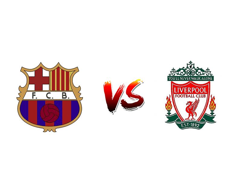 Футбол. Лига чемпионов. «Барселона» (Барселона) — «Ливерпуль» (Ливерпуль)