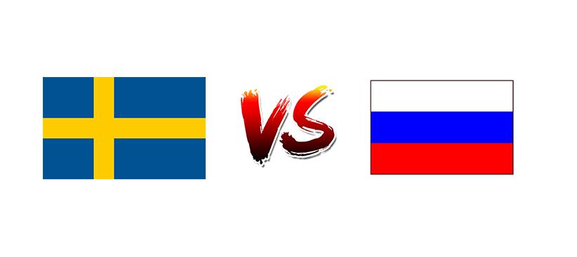 Хоккей. ЧМ. Швеция — Россия