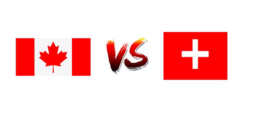Хоккей. ЧМ. Канада — Швейцария