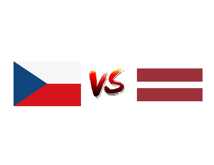 Хоккей. ЧМ. Сборная Чехии — Сборная Латвии