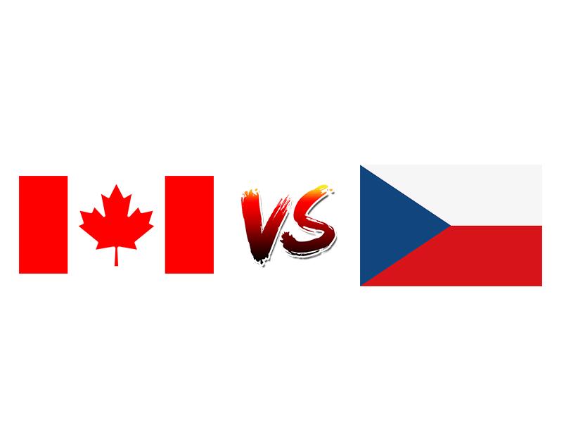 Хоккей. ЧМ. Сборная Канады — Сборная Чехии
