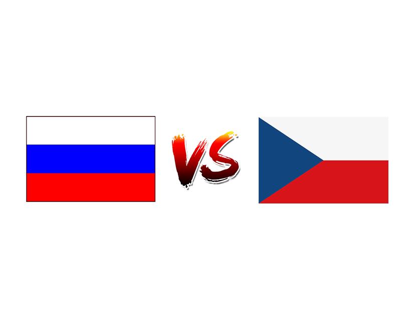 Хоккей. ЧМ. Сборная России — Сборная Чехии