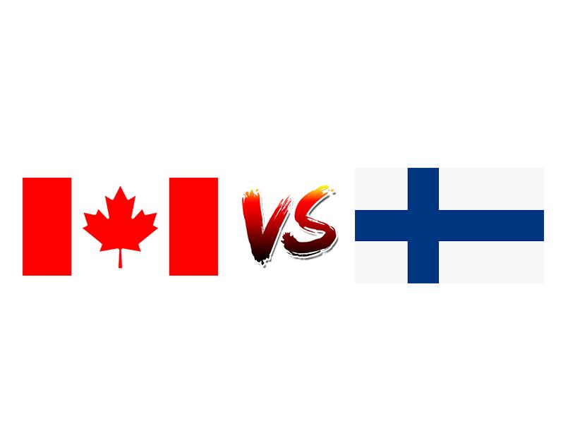 Хоккей. ЧМ. Сборная Канады — Сборная Финляндии