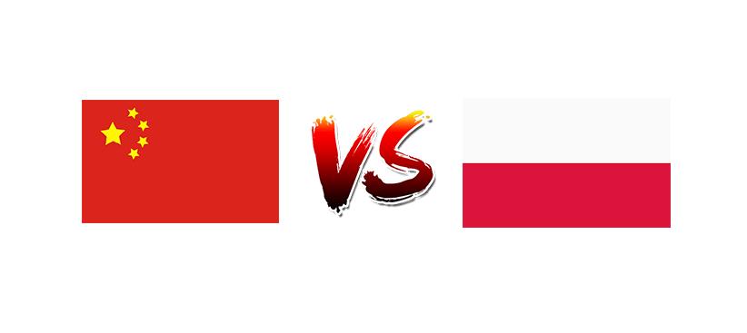 Волейбол. Лига наций. Мужчины. Сборная Китая — Сборная Польши