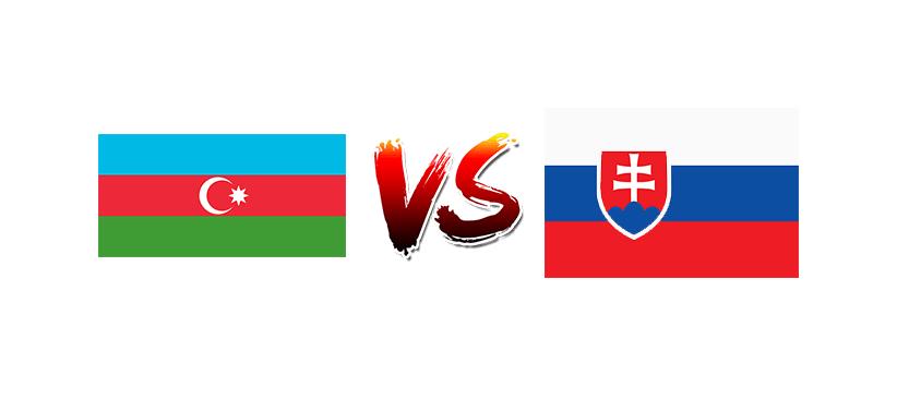 Футбол. Чемпионат Европы 2020. Квалификация. Сборная Азербайджана — Сборная Словакии
