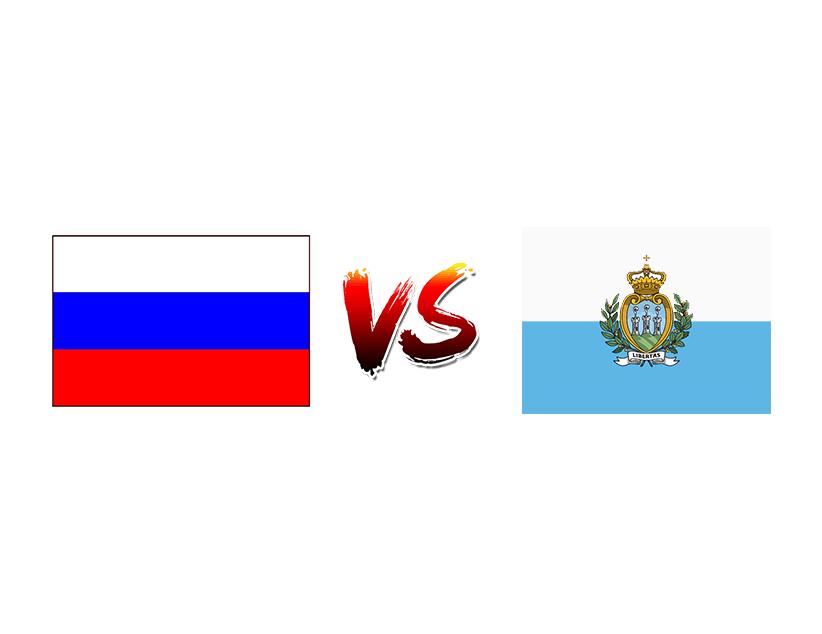 Футбол. Чемпионат Европы 2020. Квалификация. Сборная России — Сборная Сан-Марино