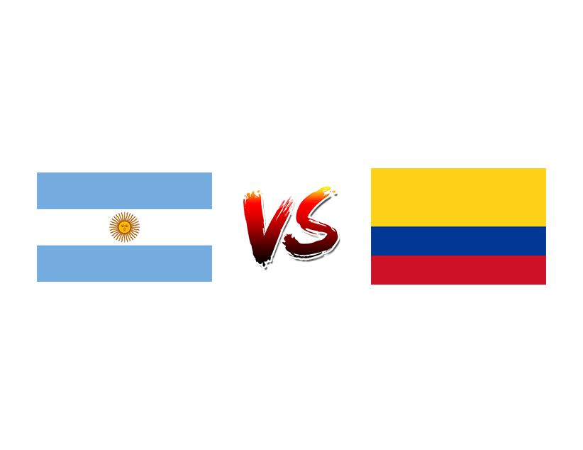 Футбол. Кубок Америки. 2019. Бразилия. Сборная Аргентины — Сборная Колумбии