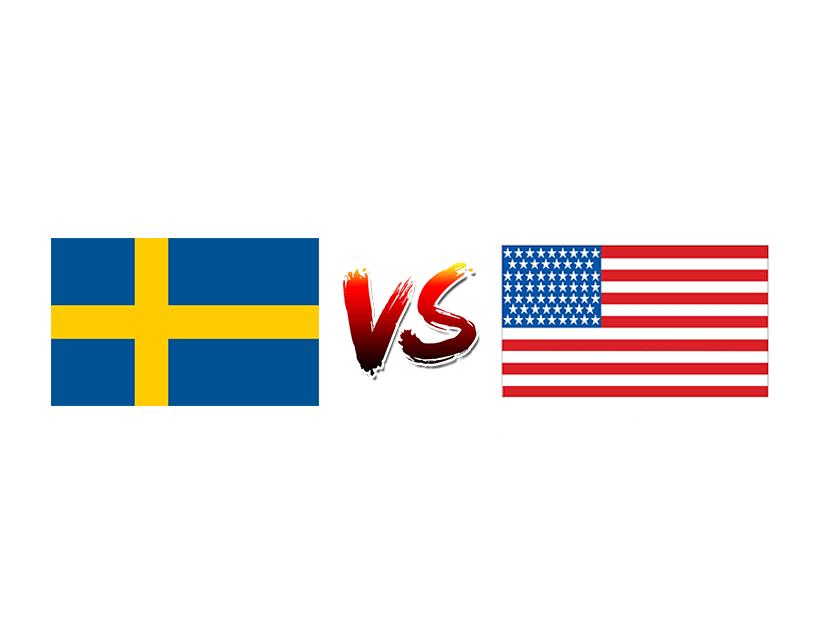 Футбол. Чемпионат Мира. Женщины. Сборная Швеции — Сборная США