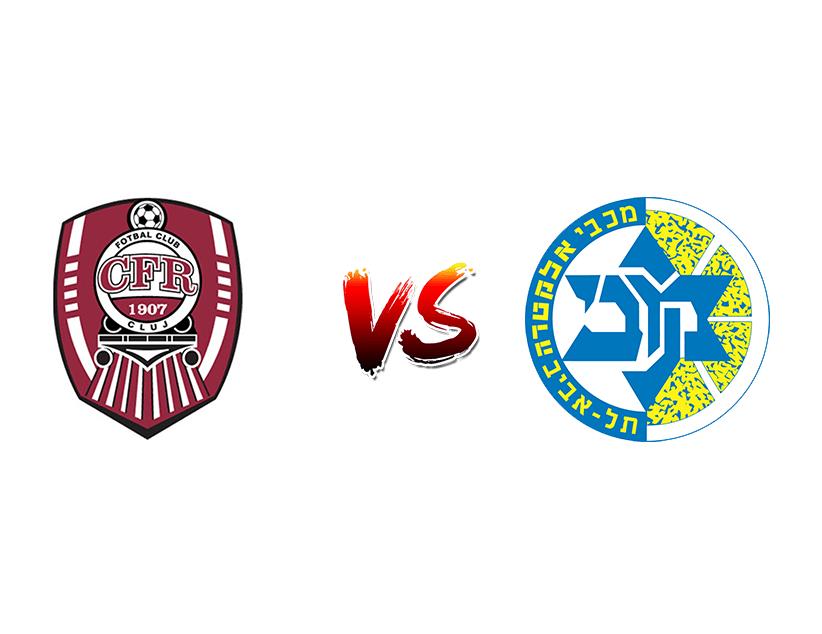 Футбол. Лига Чемпионов. «ЧФР» (Румыния) – «Маккаби Т-А» (Израиль)