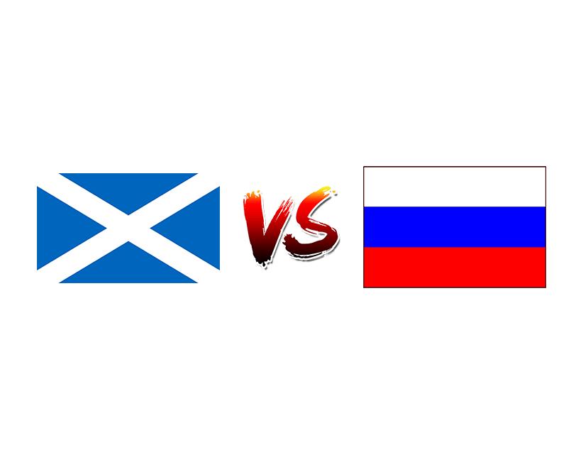 Футбол. Евро 2020. Квалификация. Сборная Шотландии — Сборная России