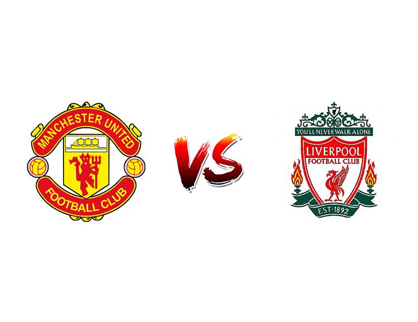 Футбол. Англия. «Манчестер Юнайтед» – «Ливерпуль»