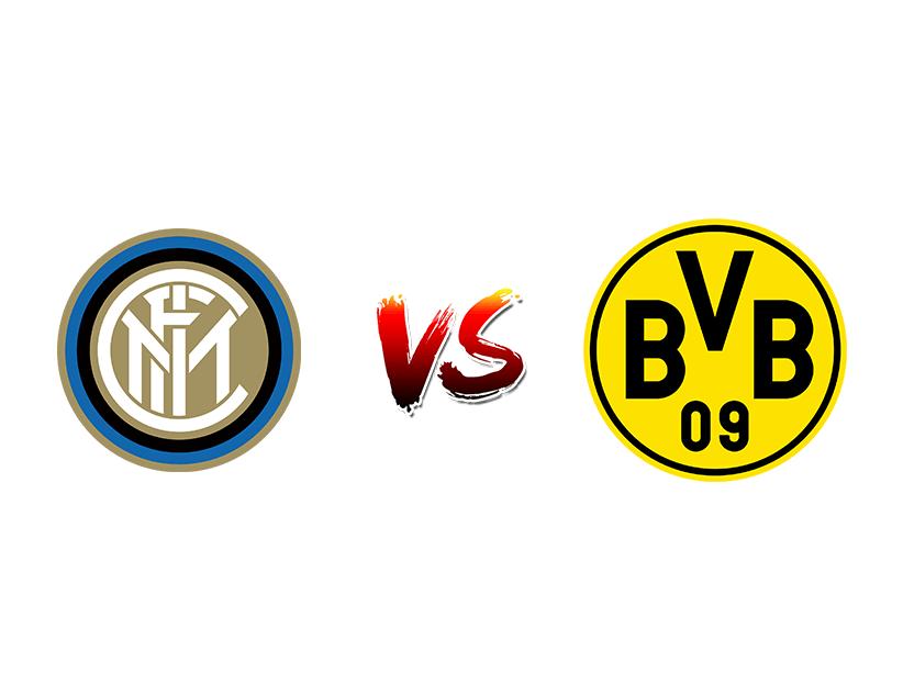 Футбол. Лига Чемпионов. «Интер» (Италия) – «Боруссия» Дортмунд (Германия)