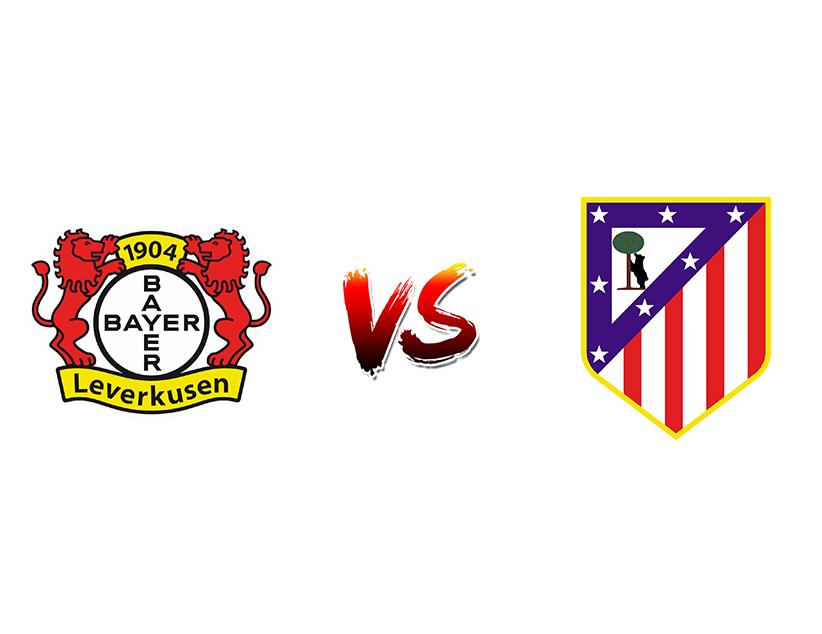 Футбол. Лига чемпионов УЕФА. «Байер 04» (Германия) – «Атлетико» (Испания)