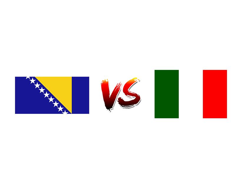 Футбол. Чемпионат Европы. 2020. Квалификация. Групповой этап. Сборная Боснии и Герцеговины — Сборная Италии