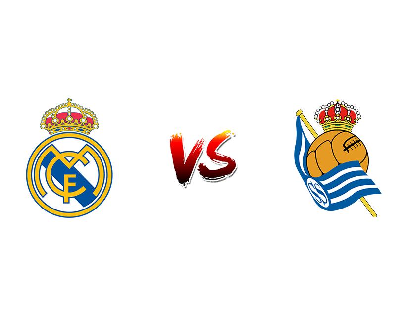 Футбол. Испания. Примера дивизион. «Реал Мадрид» (Мадрид) — «Реал Сосьедад» (Доностия/Сан-Себастьян)