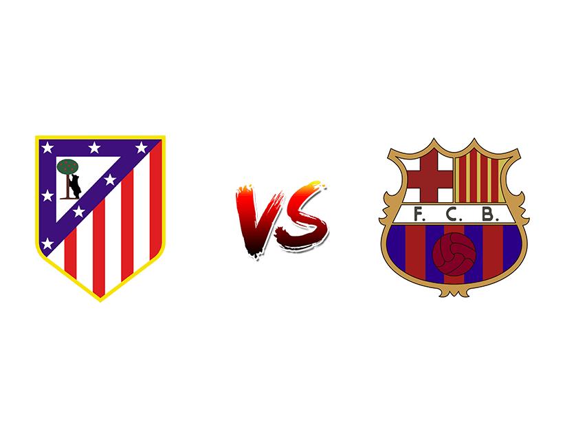 Футбол. Испания. Примера дивизион. «Атлетико» (Мадрид) — «Барселона» (Барселона)