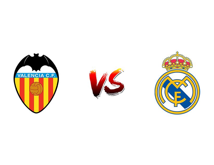 Футбол. Испания. Примера дивизион. «Валенсия» (Валенсия) — «Реал Мадрид» (Мадрид)