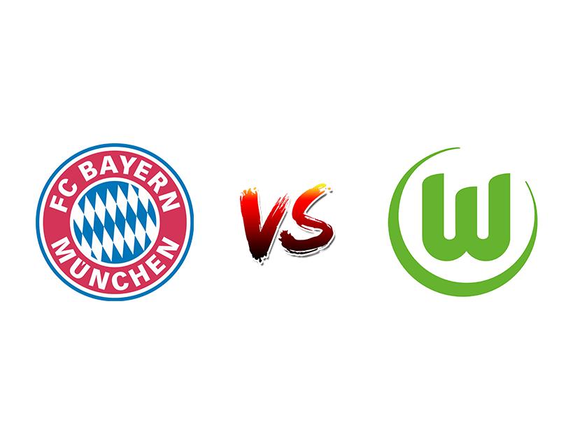 Футбол. Германия. Бундеслига. «Бавария» (Мюнхен) — «Вольфсбург» (Вольфсбург)