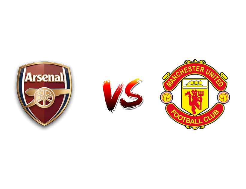 Футбол. Англия. Премьер-лига. «Арсенал» (Лондон) — «Манчестер Юнайтед» (Манчестер)