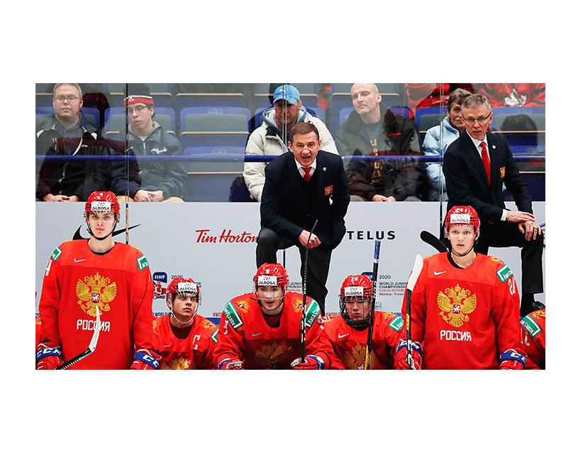 Хоккей. МЧМ. Плей-офф. 1/4 финала. Сборная Швейцарии (20) — Сборная  России (20)