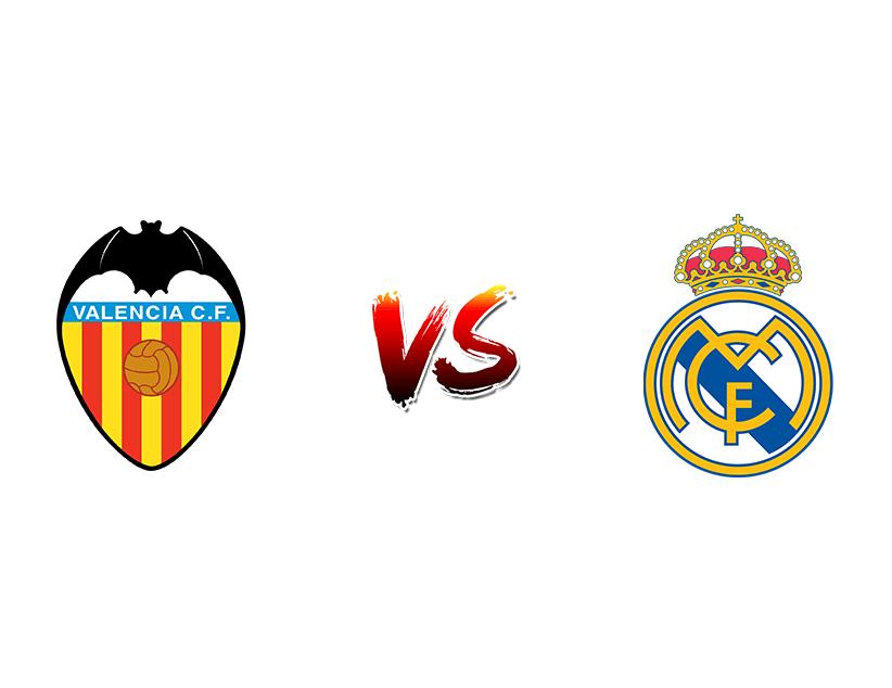 Футбол. Испания. Суперкубок. 1/2 финала. «Валенсия» (Валенсия) — «Реал Мадрид» (Мадрид)