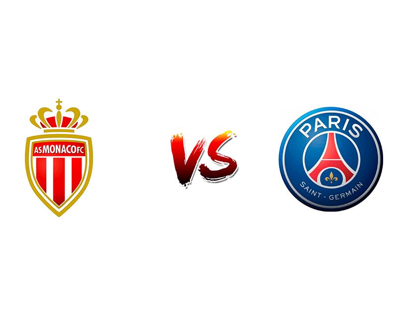Футбол. Франция. Лига 1. «Монако» (Монако) — «ПСЖ» (Париж)