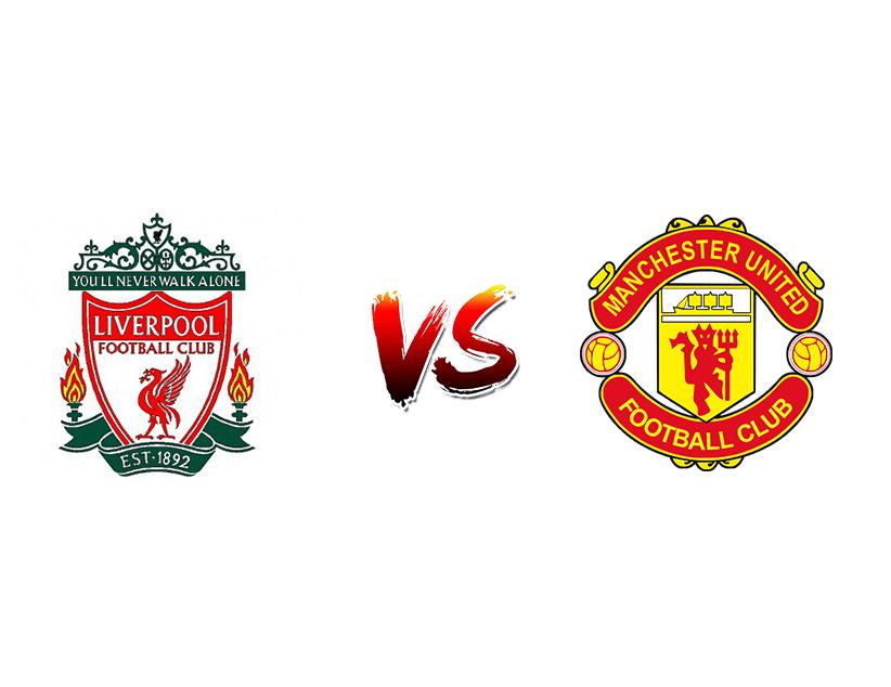 Футбол. Англия. Премьер-лига. «Ливерпуль» (Ливерпуль) — «Манчестер Юнайтед» (Манчестер)
