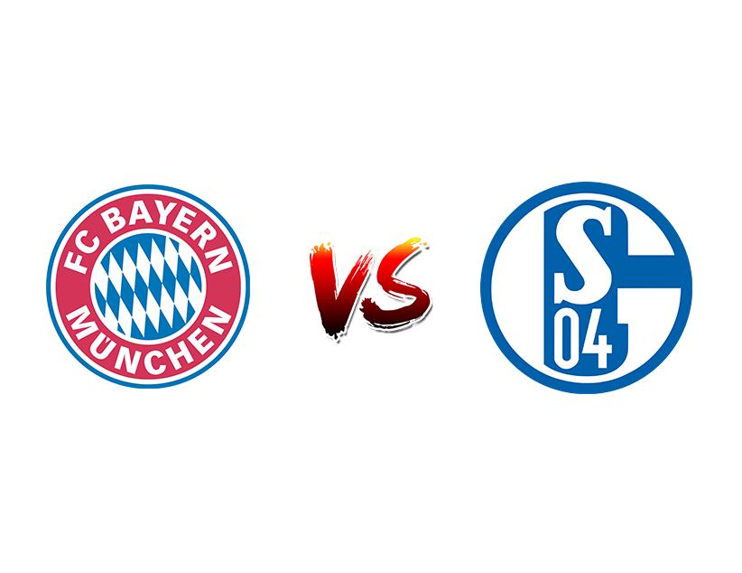 Футбол. Германия. Бундеслига. «Бавария» (Мюнхен) — «Шальке 04» (Гельзенкирхен)