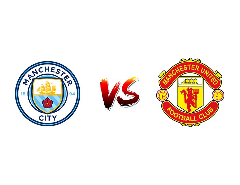 Футбол. Англия. Кубок лиги. 1/2 финала. Ответные матчи. «Манчестер Сити» (Манчестер) — «Манчестер Юнайтед» (Манчестер)